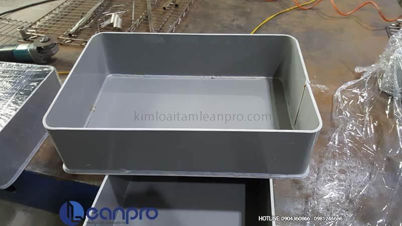Khay chống tràn hóa chất PVC- LeanPro